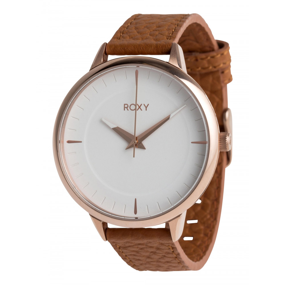 Womens Avenue Leather Analogue Watch