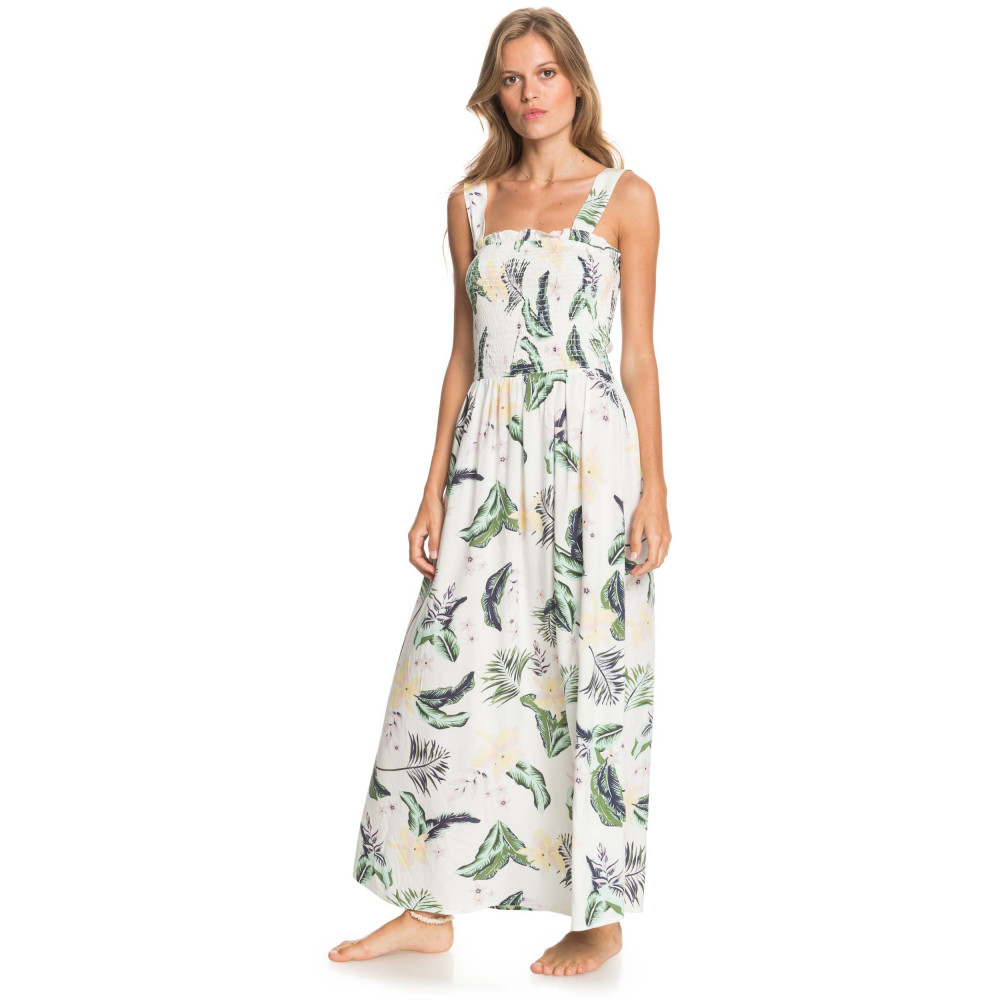 Womens Up In The Flames Ankle Length Strappy Dress