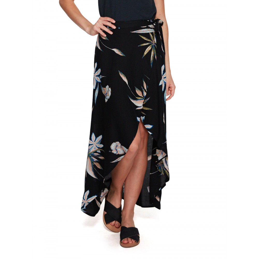 Womens Sumatra Sun Wrap Midi Skirt