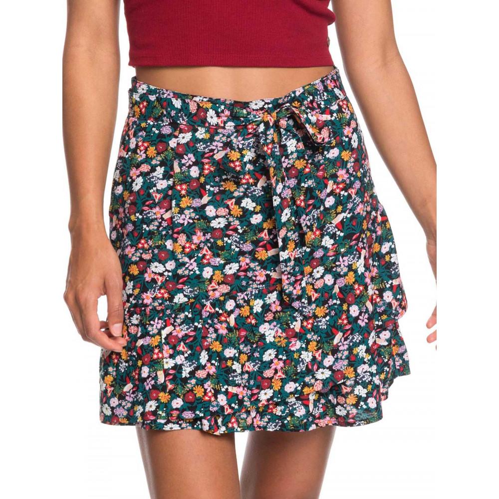 Womens Mi Mascota Printed Skater Skirt