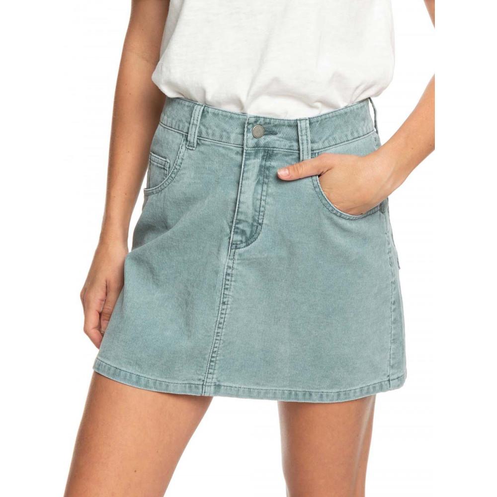 Womens Linger Longer Corduroy Skirt
