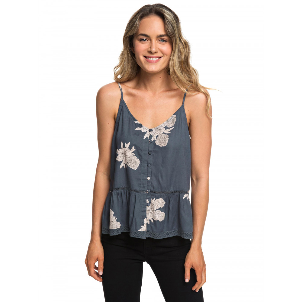 Womens Manhattan At Dusk Button Front Cami Top