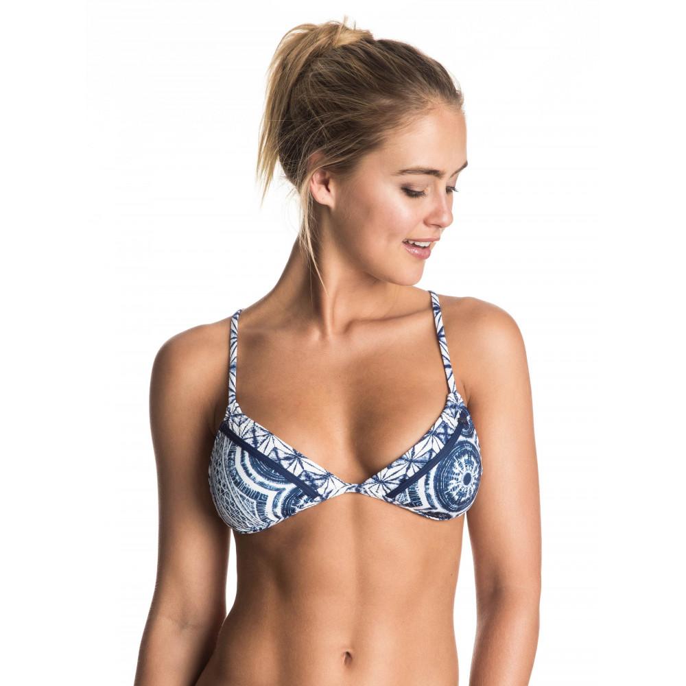 Womens Visual Touch Fixed Tri Separate Bikini Top