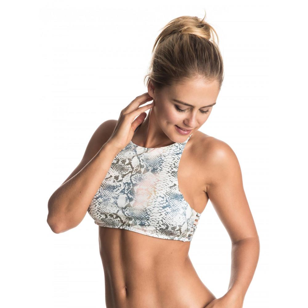 Womens Strappy Love Crop Separate Bikini Top