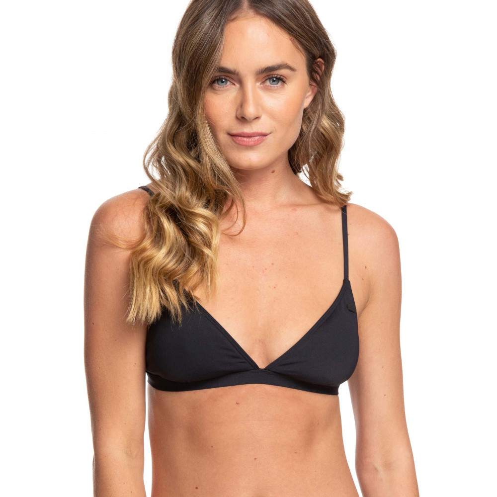 Womens Beach Classics Fixed Triangle Separate Bikini Top