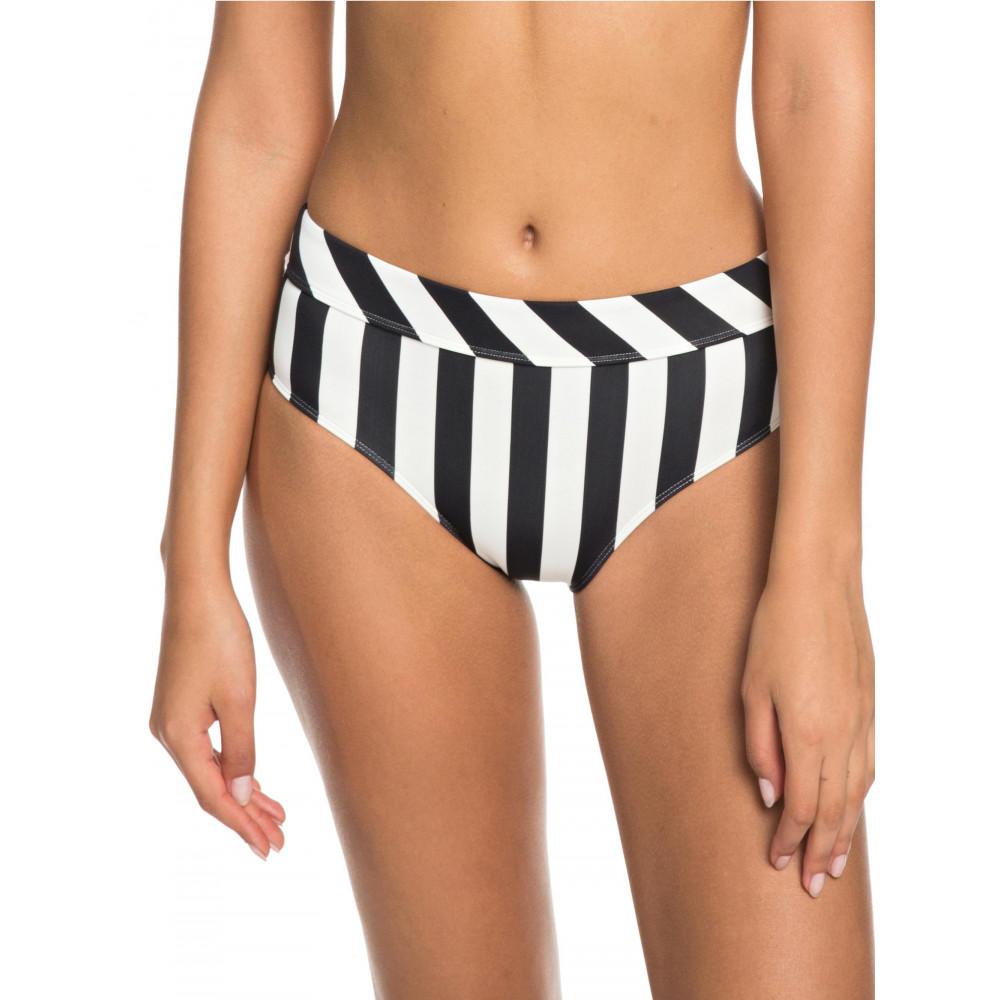 Womens Beach Basic Mid-Waist Separate Bikini Pant