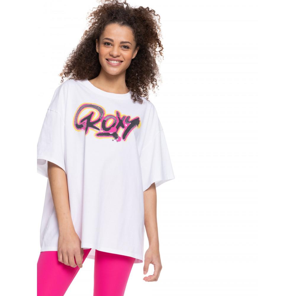 Womens Kelia Fly Girl Oversized T-Shirt