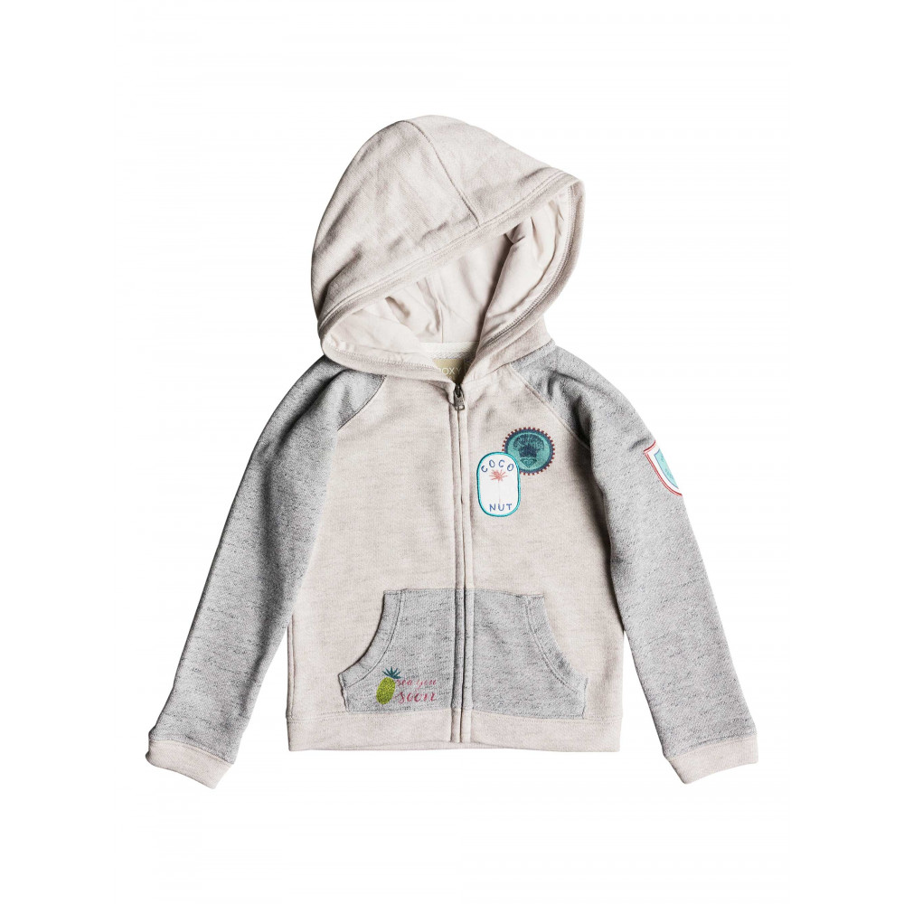 Girls 2-7 Feeling Better Zip Up Hoodie