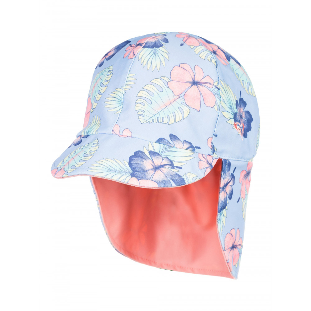 Girls 2-7 Come And Go Reversible Swim Hat