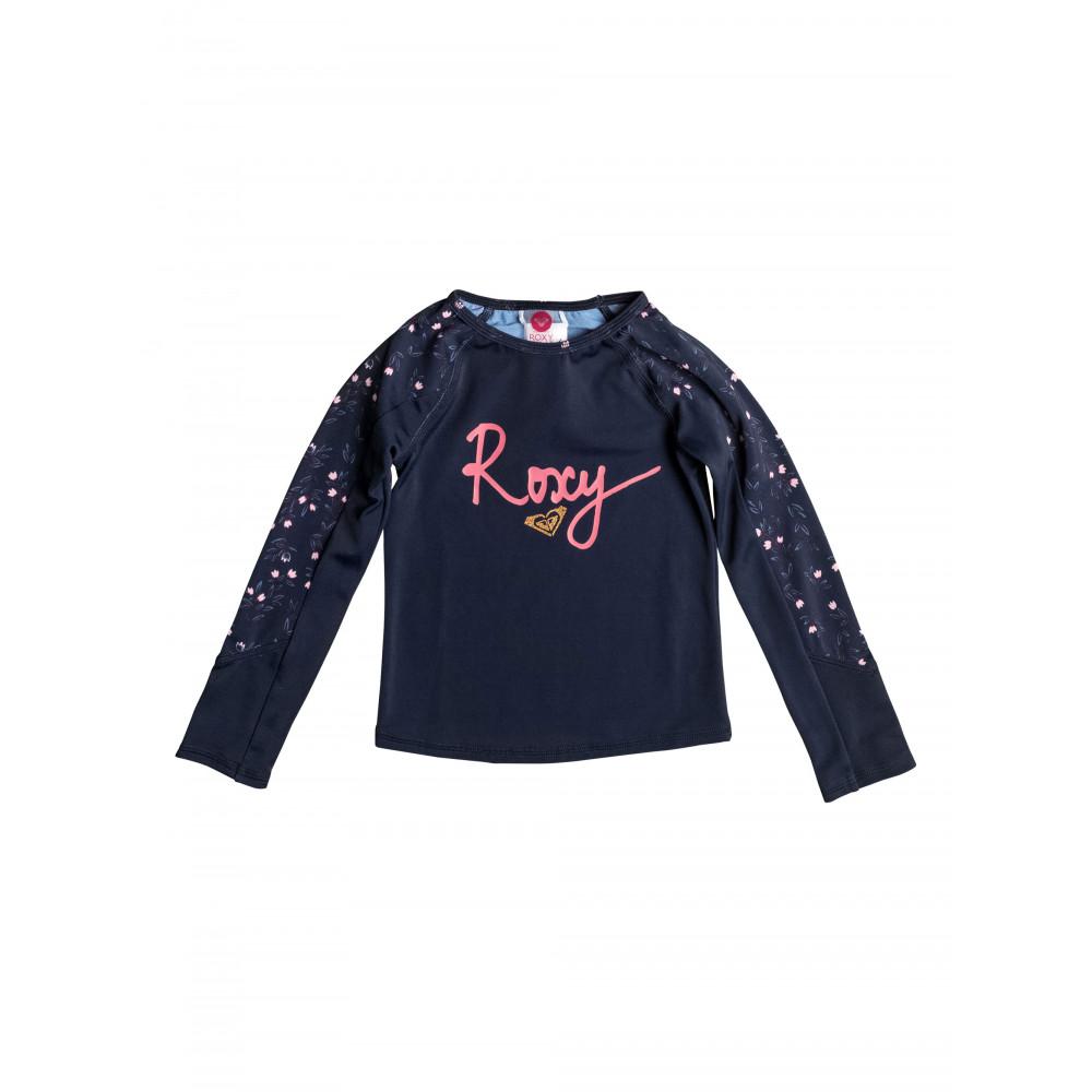 Girls 2-7 Roxy Star Boho Long Sleeve Fashion Rash Vest