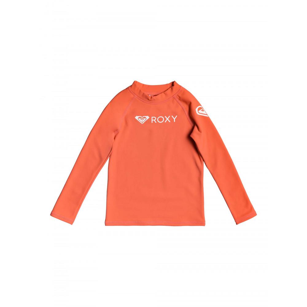 Girls 2-7 ROXY Heater Long Sleeve UPF 50 Rash Vest