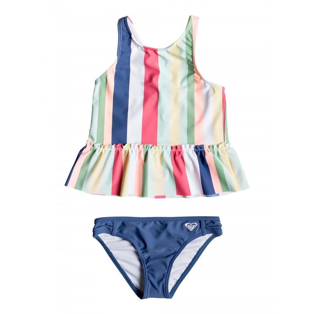 Girls 2-7 Paradise Tropics Tankini Bikini Set
