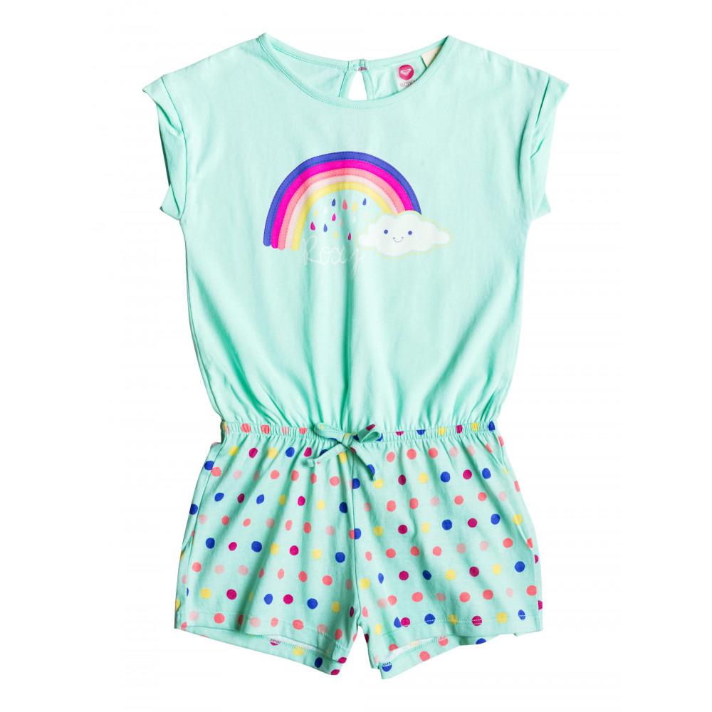Girls 2-7 Rainbow Romper