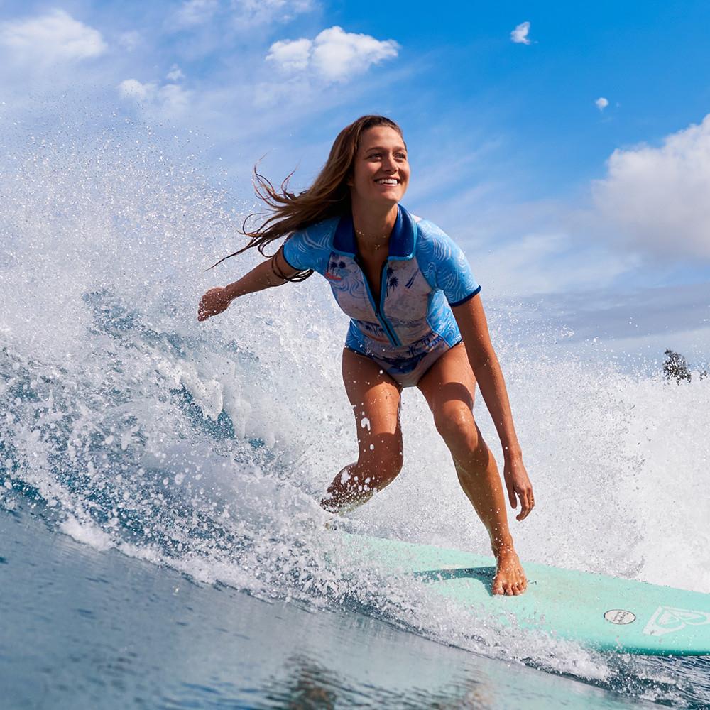 Womens 2mm Popsurf Bikini Springsuit Wetsuit