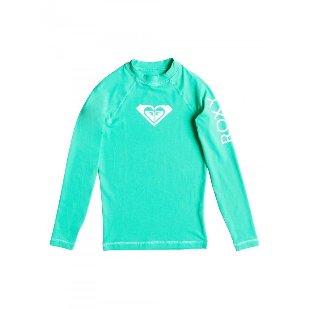 Girls 8-14 Whole Hearted Long Sleeve Rash Vest