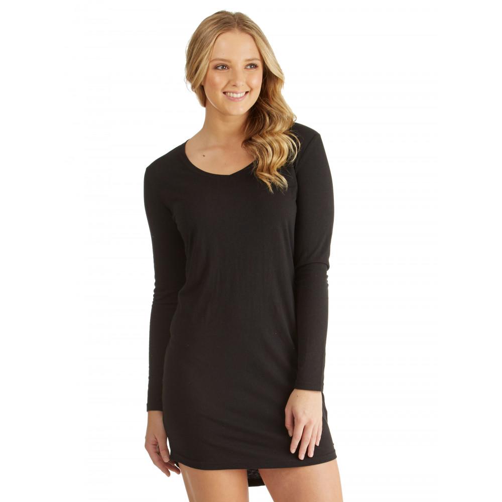 Womens Lexi Essentials Long Sleeve Dress