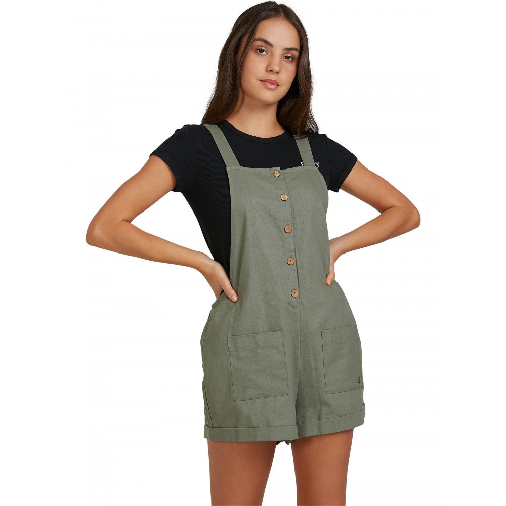 Womens Rising Direction Strappy Playsuit