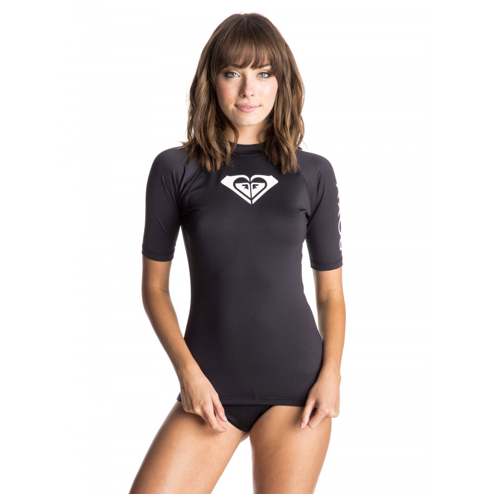 Womens Whole Hearted Short Sleeve Rash Vest