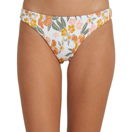 Womens On Repeat Separate Smocked Bikini Pant