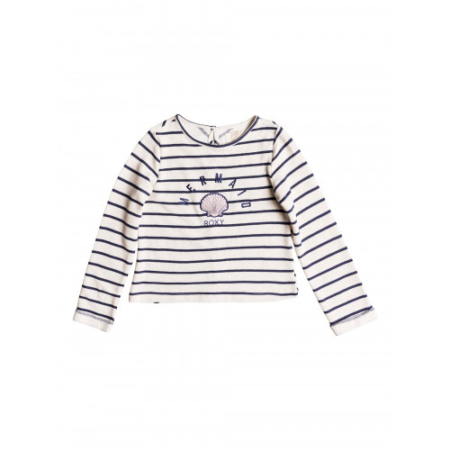 Girls 8-14 Heart And Soul Striped Jumper