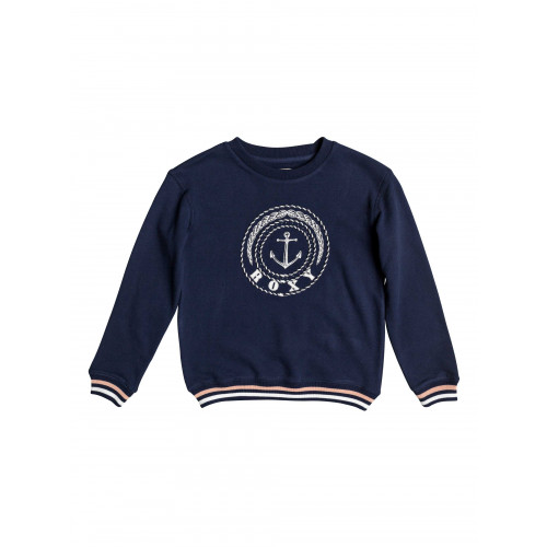 Girls 8-14 Shine All Day Anchor Crew Jumper
