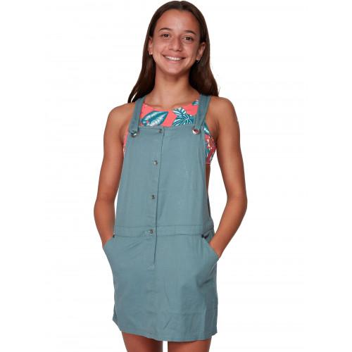 Girls 4-14 Relaxed Morning Overalls Dress