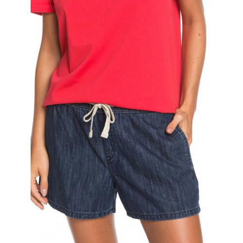 Womens Jump In Leaves Denim Shorts