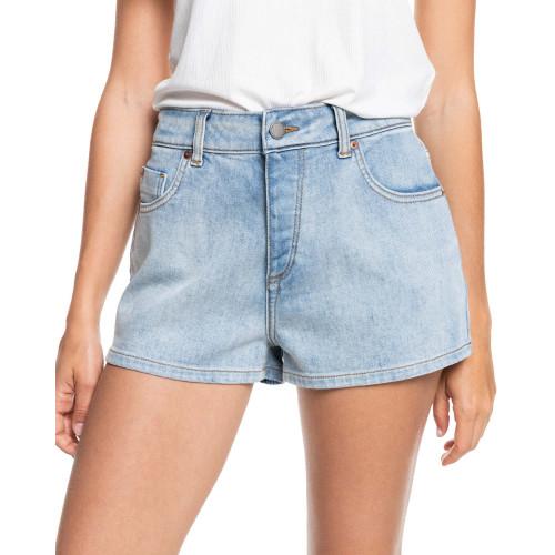 Womens Call Me Back Denim Shorts