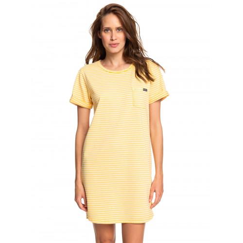 Womens Walking Alone Short Sleeve Tee Dress