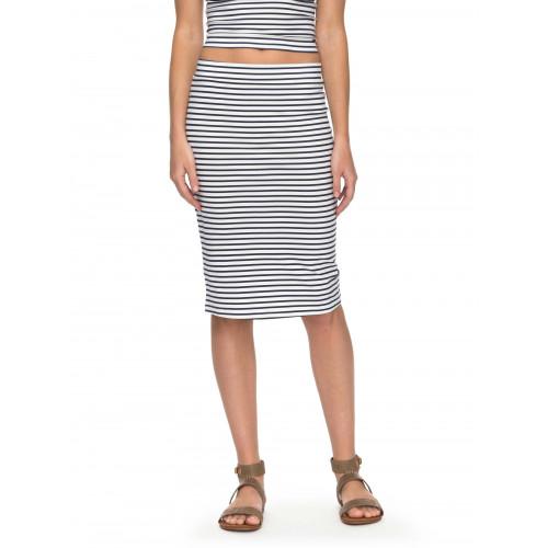 Call Up In Dreams Stripe - Midi Bodycon Skirt