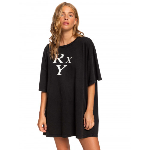Sisters Gold Moment Super Oversized Tee Dress