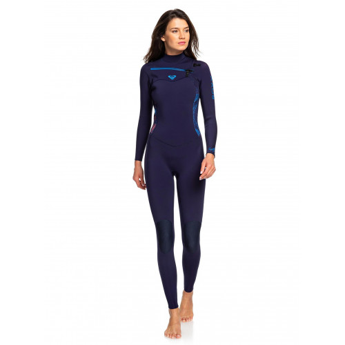 Womens Syncro 3/2mm Chest Zip GBS Steamer Wetsuit