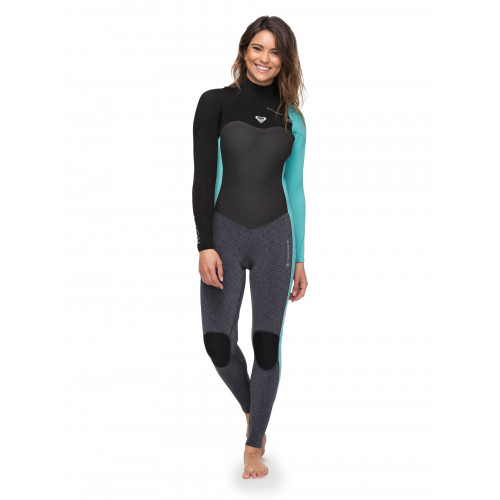 Womens 4/3mm Performance Chest Zip Steamer Wetsuit