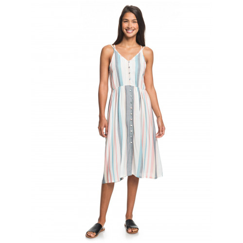 Womens My Way To Coast Strappy Dress