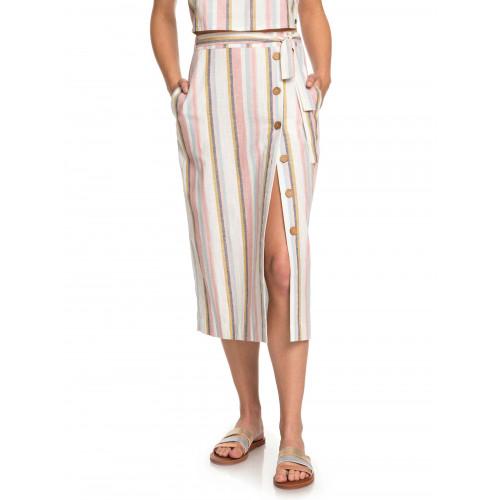 Womens Lose My Breath Midi Skirt