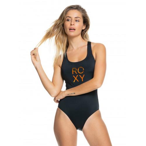Womens ROXY Fitness One Piece Swimsuit