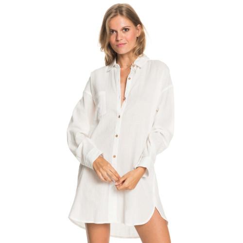 Womens Good Surf Time Beach Shirt Dress