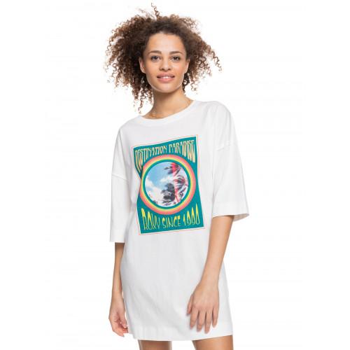 Womens Macrame Hour Oversized T-shirt