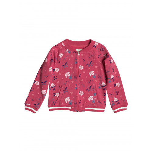 Girls 2-7 Love Space Fleece Bomber Jacket