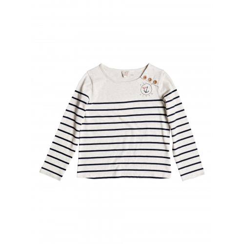 Girls 2-7 Joy You Bring Striped Long Sleeved Top