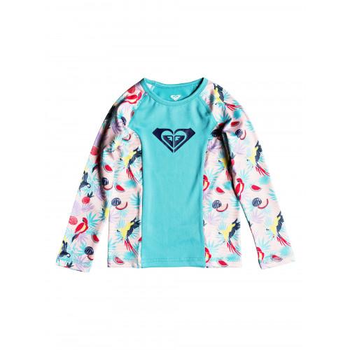 Girls 2-7 Simply ROXY Long Sleeved UPF 50 Rash Vest
