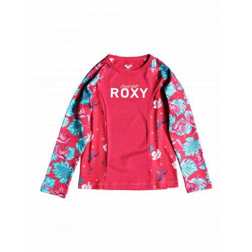 Girls 2-7 Simply ROXY Long Sleeved UPF 50 Rash Vest