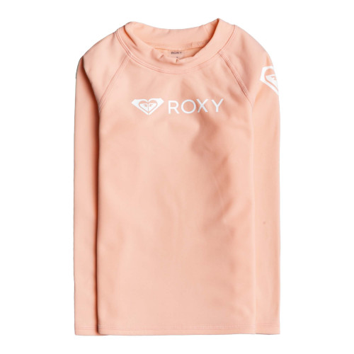 Girls 2-7 ROXY Heater Long Sleeve UPF 50 Rash Vest