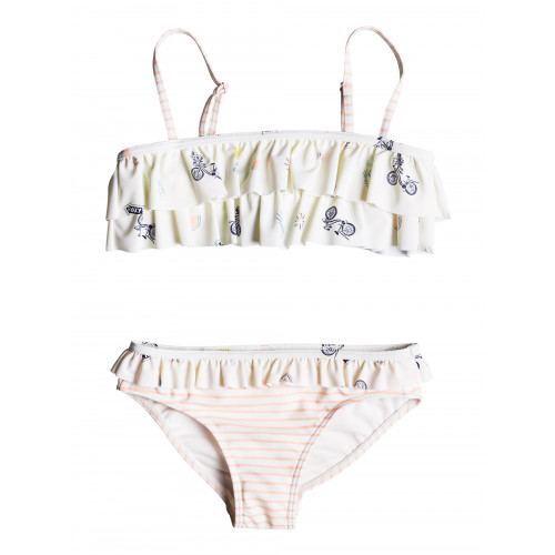 Girls 2-7 Come On Board Flutter Bikini Set