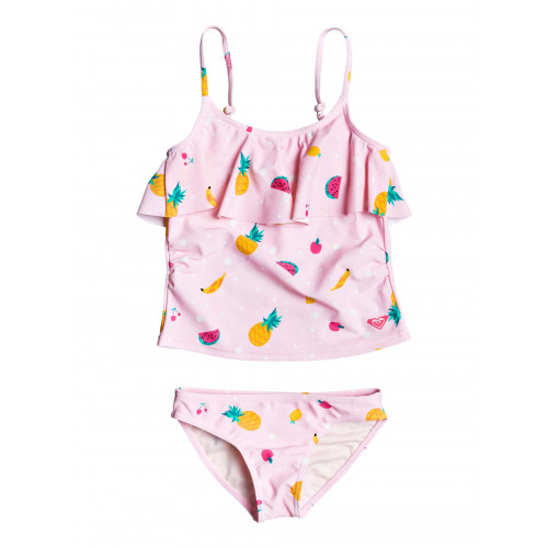 Girls 2-7 Lovely Aloha Tankini Bikini Set