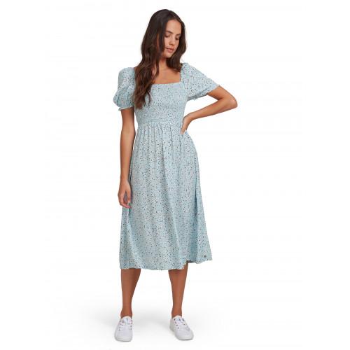 Womens Hello Petal Woven Dress