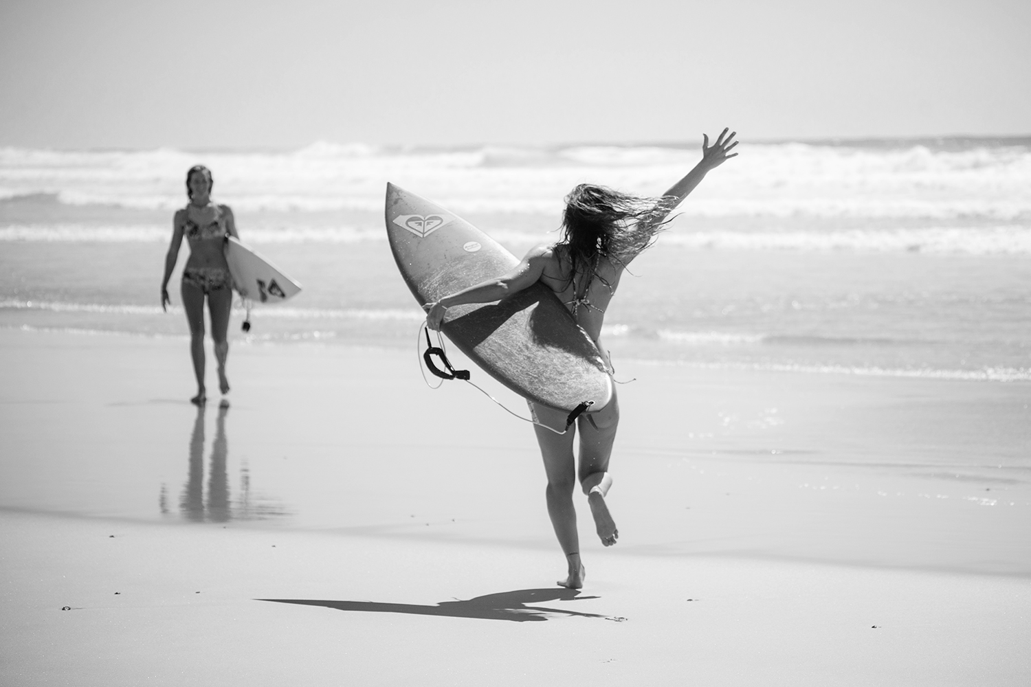 Cooling off in Cabarita during the #ROXYpro