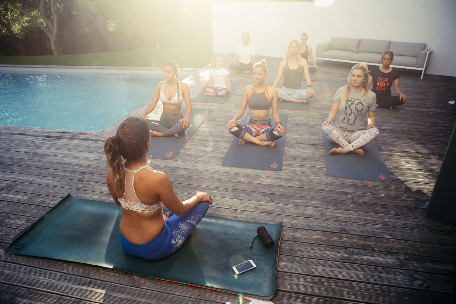 Surf. Eat. Yoga. Repeat at the #ROXYpro France