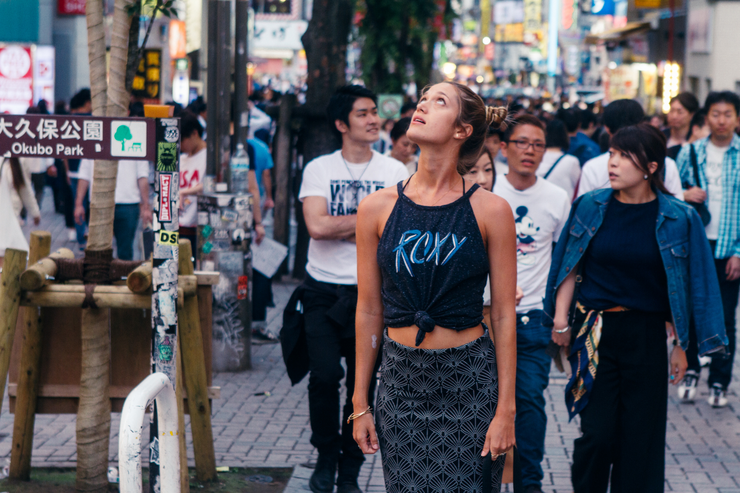 Postcards from Japan: 24 Hours in Tokyo with Monyca