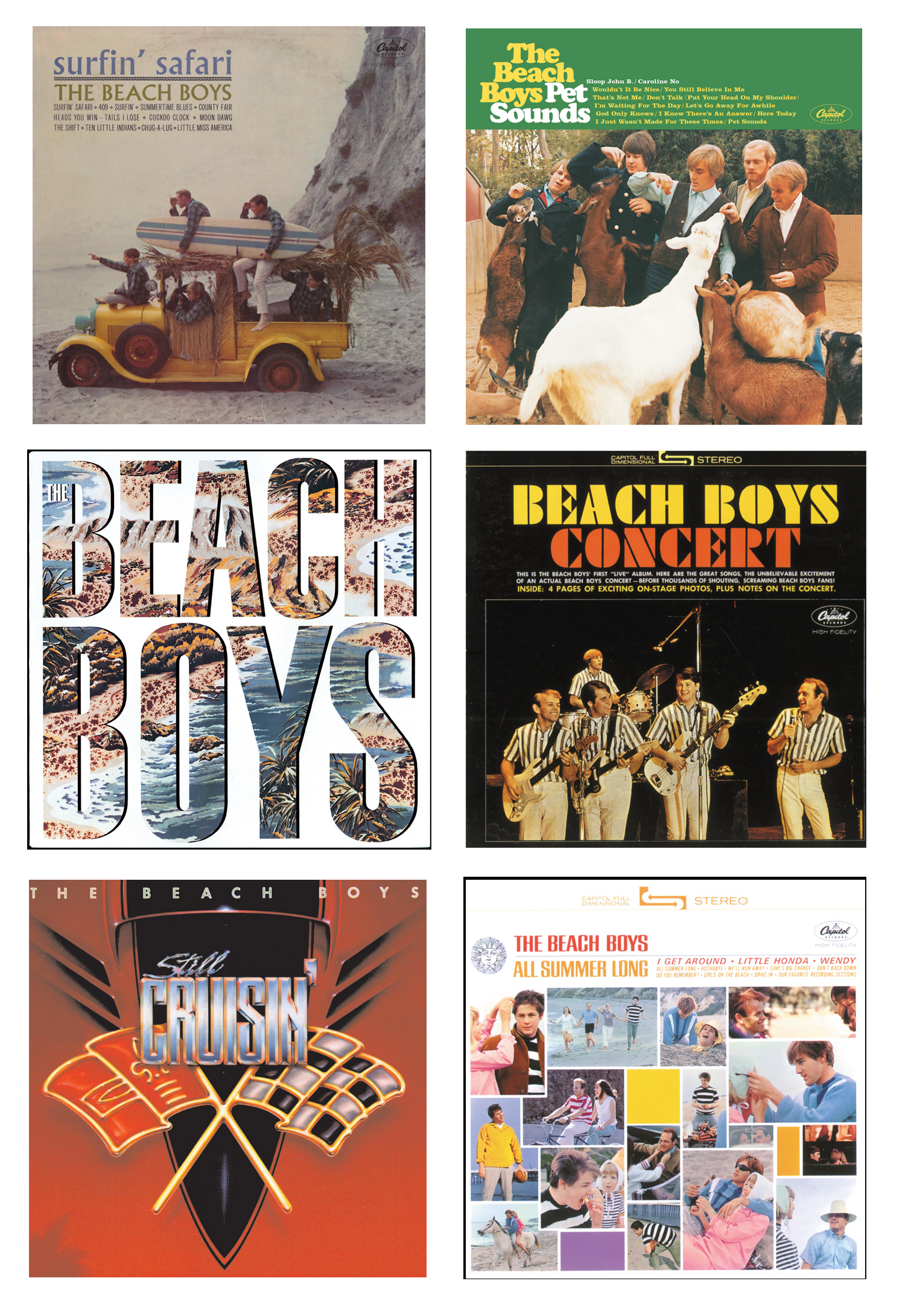 The Beach Boys x ROXY Collection